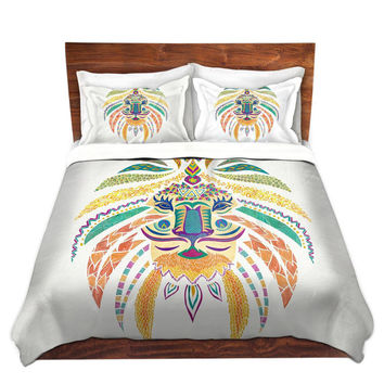 Whimsical Lion Bed Duvet Cover – For Twin, Queen and King Size Beds