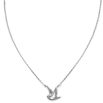 Peace Birdy Silver Plated necklace