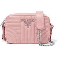 Prada - Quilted leather camera bag
