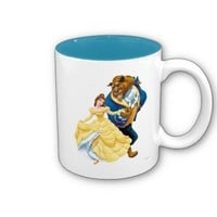 Belle and Beast Mugs from Zazzle.com