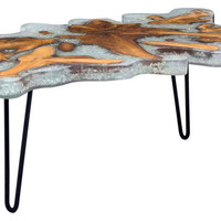 Zuo Modern Contemporary Jigsaw Square Coffee Table - Coffee Tables | Houzz