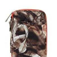 Quilted Wristlet Wallet Camo Print - 2 Color Choices