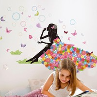 2016 Butterfly wall stickers sticker diy decoration Posters Pvc Bedroom  wall sticker Art Home decor adesivo de parede