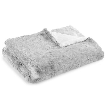 Hotel Collection Faux Fur Throw, Only at Macy's | macys.com