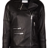 Filles A Papa Leather Jacket