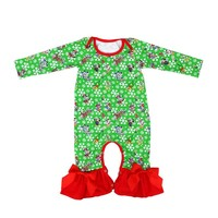 New Cotton Christmas Baby Romper