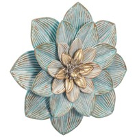 Silver Price Succulent Wall Decor Lg D.