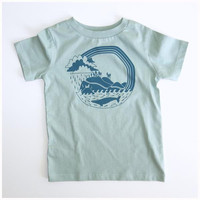 Pacific Explorer Organic Tee - Size 3T