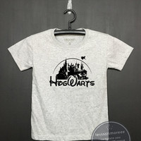 Hogwarts shirt - Harry potter Kids Shirt - Girls Clothing- Funny Birthday, Kid Shirt, little girl, hipster kids, Flock printing