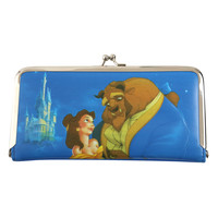 Disney Beauty And The Beast Kisslock Wallet