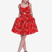 Her Universe Disney Lilo & Stitch Retro Cut-Out Dress