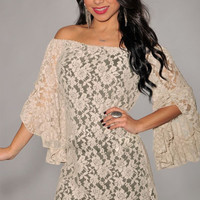 2017 Summer New Cream Lace Off-the-shoulder Long Sleeve White Women Sexy Dress Fashion LC2809 Casual Clothing Plus Size S-4xl