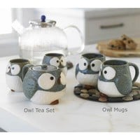 VivaTerra - Owl Mugs and Tea Set