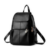 Fashion Zipper Portable Outdoor Backpack Travel Bag Totes