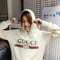 GUCCI Women Man Fashion Print Long Sleeve Top Sweater Pullover Hoodie G-AGG-CZDL