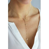 Star Cruiser Y Necklace - Christine Elizabeth Jewelry