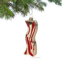 Bacon Christmas Ornament