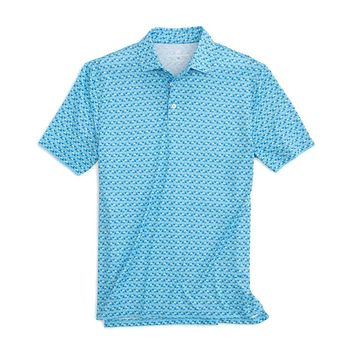 Drink of the Day Printed Performance Polo by Southern Tide