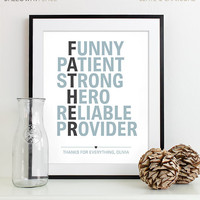 Fathers Day Present, Awesome Dad Gift from Children Gift for New Dad Gift, Father Wedding Gift for Father of the Bride Gift for Dad Present