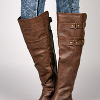 Double Buck Riding Boots | Knee High Boots at Pinkice.com