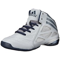 Adidas Boys Performance Faux Leather Basketball Shoes