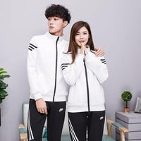 Adidas Women Men Fashion relaxation exercise suit