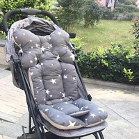 Baby stroller cushion diaper Pad infant kids cotton car seat head support protective Neck Protection pad Stroller Accessories X3