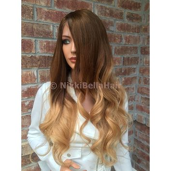 Ombre Honey Full lace wig 24""