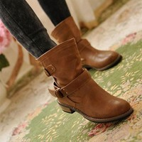 Ankle winter boots