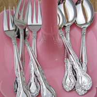 Children's Cake Fork and Tea Spoon Set