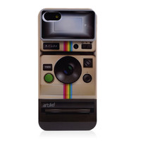 Polaroid Style Hard Back Cover Case for iPhone 5 & 5S