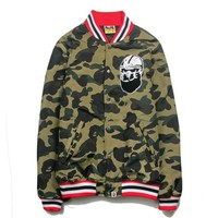 Sports Hot Deal On Sale Casual Camouflage Jacket Cotton Baseball [11218585287]