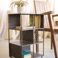 Short Metal Shelf - Vertical