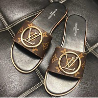 LV Metal slippers