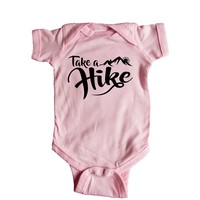 Take A Hike Baby Onesuit