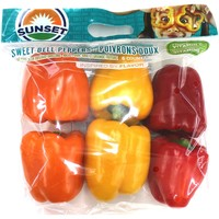 Sunset Multi Sweet Bell Peppers (6 ct.)