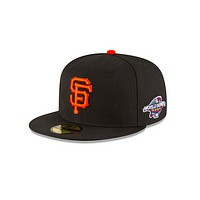 "New Era ""San Francisco Giants"" 2002 World Series Grey Bottom 59Fifty Fitted Hat"