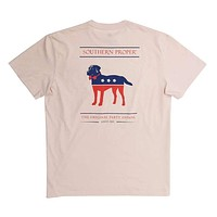 Party Animal Tee in Quartz Pink by Southern Proper