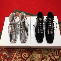 Dior Baby-d Lace-up Ankle Boot #586