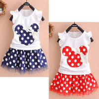 Baby Girls Minnie Mouse Princess Mini Dress