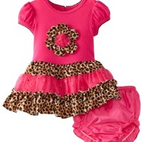 Rare Editions Baby Girls Newborn Tutu Dress, Fuchsia, 9 Months