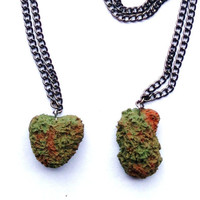 Adults Weed Mary Jane Cannabis Polymer Clay by SavannahsBoxCo