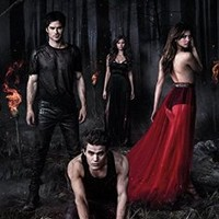 THE VAMPIRE DIARIES Woods Poster 24 x 36in