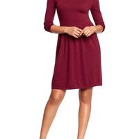 Women's Fit & Flare Sweater Dresses