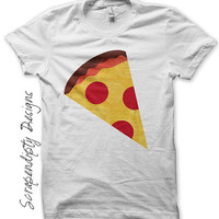 Pizza Iron on Shirt PDF - Food Iron on Transfer / Kids Pizza Party Shirt / Toddler Tshirt / Kids Boys Clothing Tops / Baby Clothes IT5