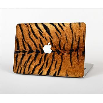 """The Real Tiger Print Texture Skin Set for the Apple MacBook Pro 15"""""""