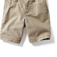 Flat Front Chino Shorts for Baby