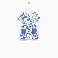MICKEY MOUSE DRESS WITH POCKETS